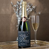 Luxury Personalised Champagne - Drink Champagne and Dance - Dance Gifts