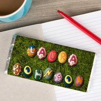 Personalised Chocolate Bar - Easter Eggs