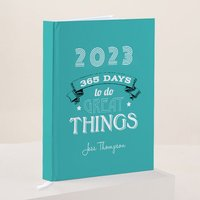 Personalised Diary - 365 Days - Diary Gifts