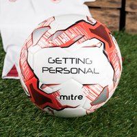 Personalised Mitre Football - Football Gifts