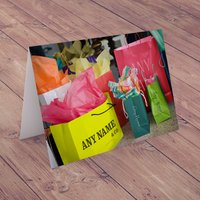 Personalised Card - Shopping Bags - Shopping Gifts