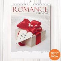 Personalised Romance Calendar - Romance Gifts