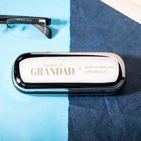 Personalised Glasses Case - No1 Grandad - Grandad Gifts