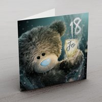Personalised Me To You Card - 18 Champagne - Me To You Gifts