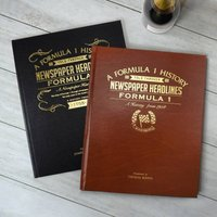 Personalised Sports Book - Formula 1 - Formula 1 Gifts