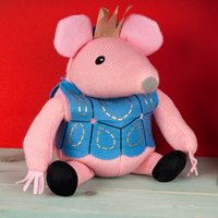 Microwavable Clangers - Tiny Clanger (Blue Coat)