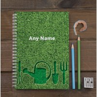 Personalised Notebook - Gardening Tools - Gardening Gifts