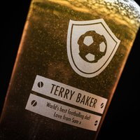 Personalised Pint Glass - Best Footballer