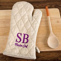 Personalised Oven Glove - Master Chef - Chef Gifts