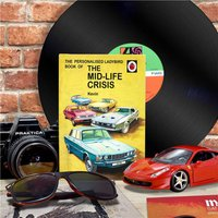 Personalised Ladybird Book For Adults - Midlife Crisis - Book Gifts