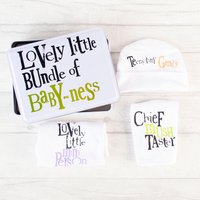 Lovely Little Baby Gift Set Tin - Baby Gifts