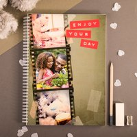 Photo Upload Me To You Notebook - Dad's Film Strip - Me To You Gifts