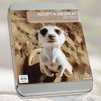 Adopt A Meerkat Gift Tin - Meerkat Gifts