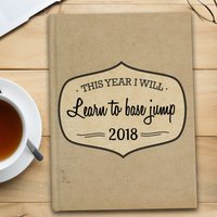Personalised Diary - This Year I'll... - Diary Gifts