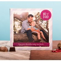 Photo Upload Me To You Belgian Chocolates – Me & My Dad - Me To You Gifts