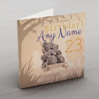 Personalised Me To You Card - Swing - Any Age - Me To You Gifts