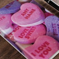 Personalised Diary - Candy Hearts - Candy Gifts