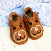 Personalised Teddy Bear Baby Shoes - Teddy Bear Gifts