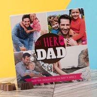 Photo Upload Belgian Chocolates – My Hero Dad - Chocolates Gifts