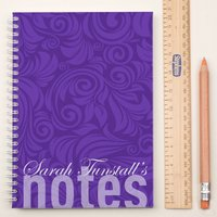 Personalised Notebook - Elegant Pattern - Elegant Gifts