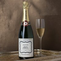 Luxury Personalised Champagne - Fifty, Aged to Perfection