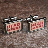 Ministry of Chaps Cufflink Set - Head Gardener - Gardening Gifts