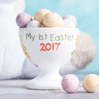 Personalised Ceramic Easter Egg Cup