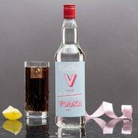 Personalised Vodka - V Is For Vodka - Vodka Gifts