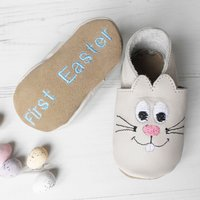 Personalised Bunny Baby Shoes