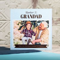 Photo Upload Me To You Belgian Chocolates – No1 Grandad - Grandad Gifts