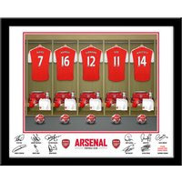 Personalised Arsenal Dressing Room Print - Arsenal Gifts
