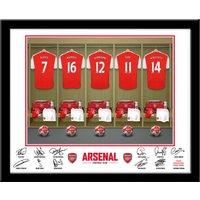 Personalised Arsenal Dressing Room Print - Arsenal Gifts