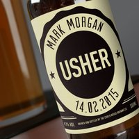 Personalised Beer - Usher - Beer Gifts