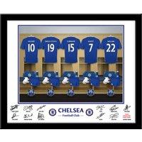 Personalised Chelsea Dressing Room Print - Chelsea Gifts