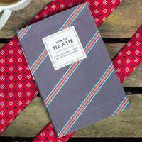 How To Tie A Tie Book - Book Gifts