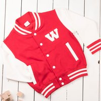 Personalised Children's Varsity Jacket - Choose From 3 Colours - Colours Gifts
