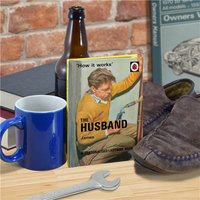 Personalised Ladybird Book For Adults - The Husband - Book Gifts