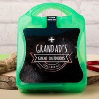 Personalised Mini Great Outdoors First Aid Kit - Outdoors Gifts