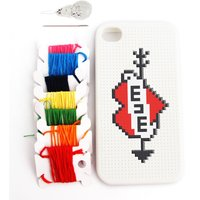 Cross Stitch Case for iPhone 4 - Iphone 4 Gifts