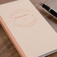 Personalised Address Book - Orange Design - Orange Gifts