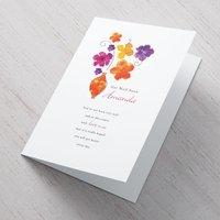 Personalised Card - Get Well Soon Flower Vase - Vase Gifts