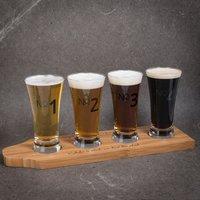 Personalised Beer Tasting Set
