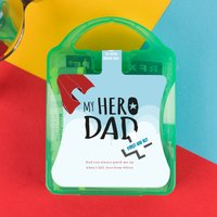 Personalised Mini My Hero Dad Outdoor First Aid Kit - Outdoor Gifts