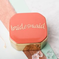 Love Is In The Air Bridesmaid Trinket Box - Bridesmaid Gifts