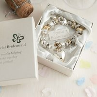 Special Bridesmaid Charm Bracelet - Bridesmaid Gifts