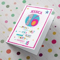 Personalised Card - 16th Birthday - Have A Blast - 16th Birthday Gifts