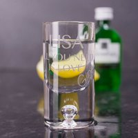Personalised Shot Glass with Miniature - All You Need Is - Shot Glass Gifts