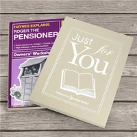 Personalised Book - Haynes Explains the Pensioner - Book Gifts