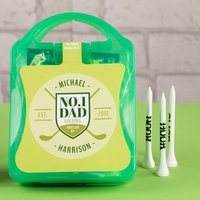 Personalised Mini Outdoor First Aid Kit - No1 Dad Golfing - Outdoor Gifts