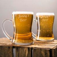 Personalised Set Of 2 Beer Mugs - Beer Gifts